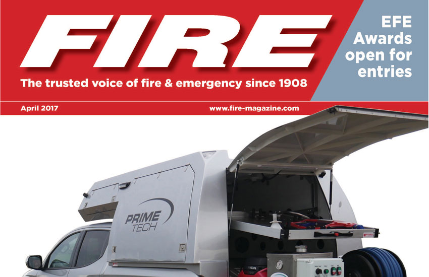 Primetech MultiPod and Cold Cut Cobra feature in Fire magazine