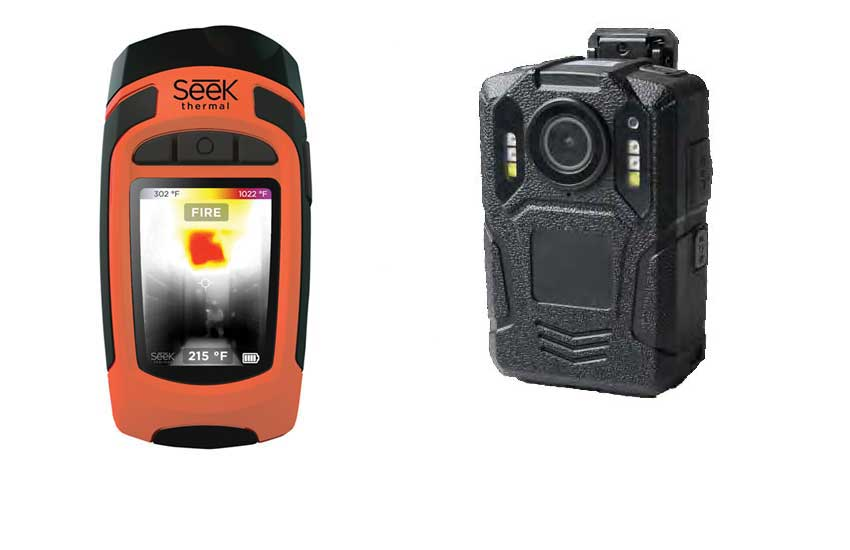 Reveal FirePRO thermal imaging and WCCTV Body Worn Camera from Primetech