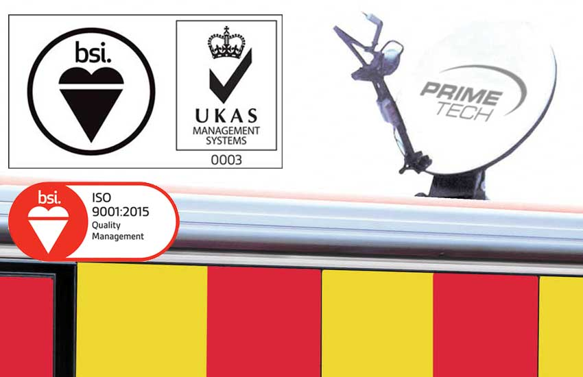 Primetech receives ISO 9001 quality certification