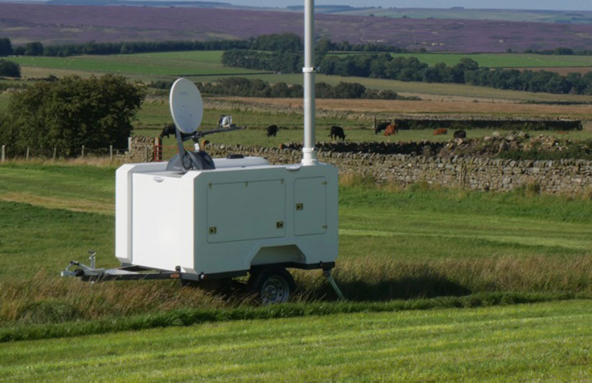 Primetech releases Self Contained Comms Trailer for Republic of Ireland