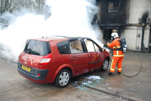 MistTech car fire 2